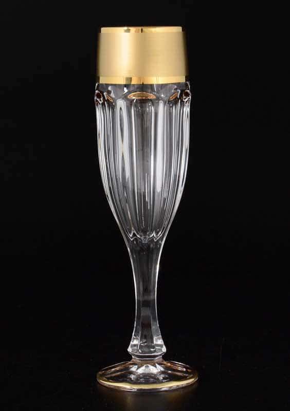 Матовая полоса Сафари набор фужеров для шампанского Balvinglass (6 шт)