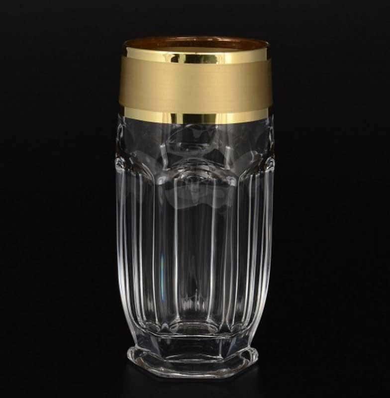 Матовая полоса Сафари набор стаканов для воды Balvinglass (6 шт)