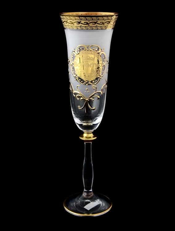 Версаче Богемия Б-Г Анжела Набор фужеров для шампанского (6 шт)