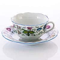 Рококо Натуре Набор для чая Dubi низкие из фарфора