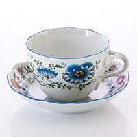 Рококо Натуре Набор для чая Dubi из фарфора