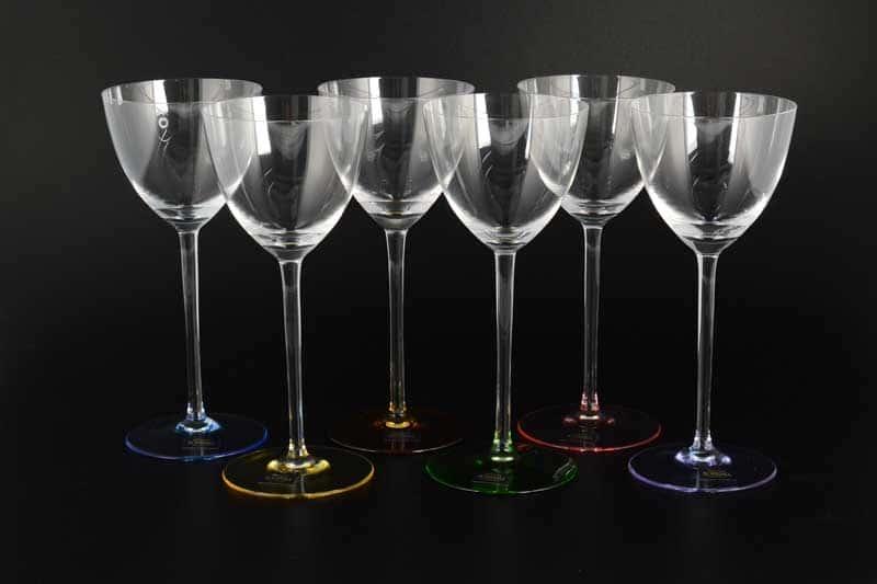 Арлекино SUZANNE Набор бокалов для вина Bohemia Crystalite 260 мл (6 шт)