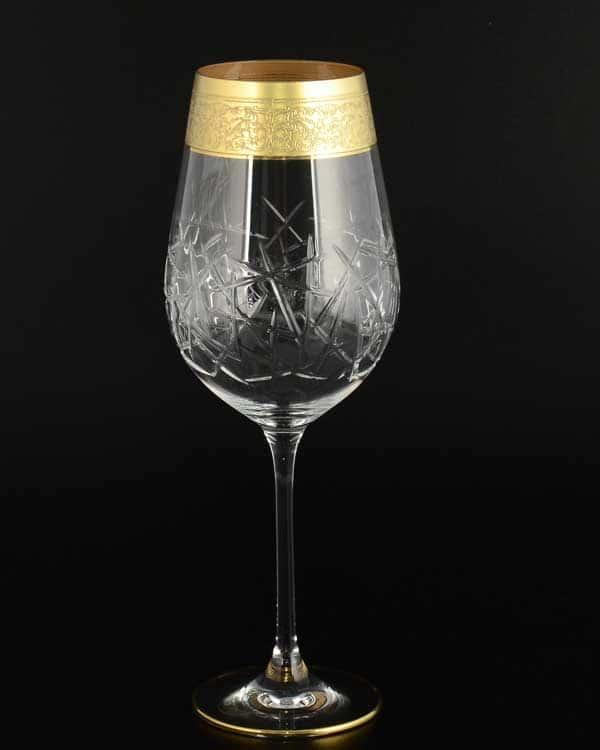 TIMON прозрачный Набор бокалов для вина из хрусталя Италия