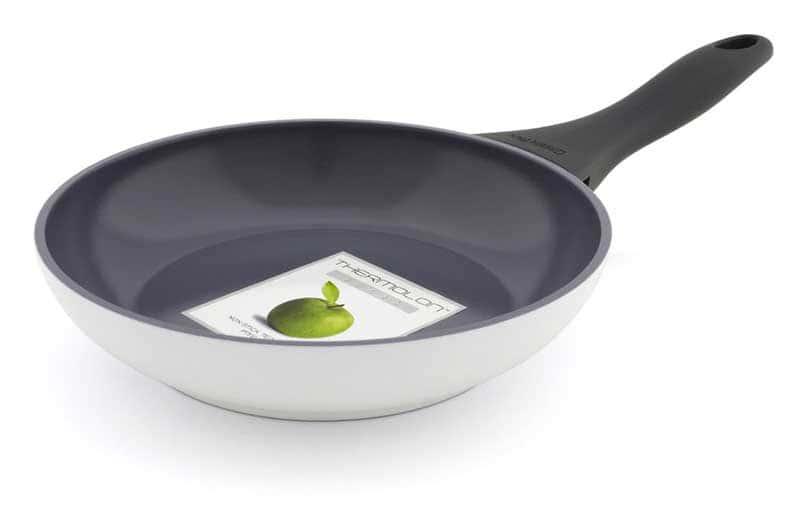 Kyoto Сковорода с керамическим покрытием белая Green Pan в т.ч. для индукционных плит 20 см.