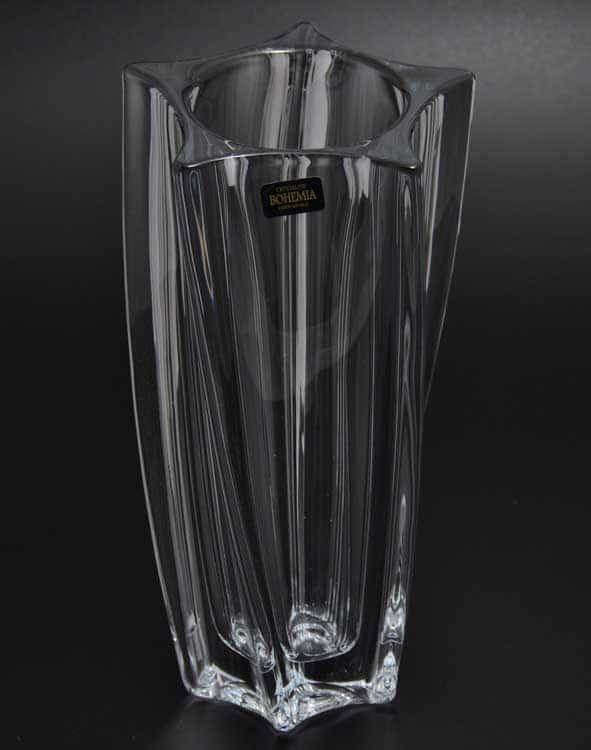 YOKO Ваза для цветов Crystalite Bohemia 25 см