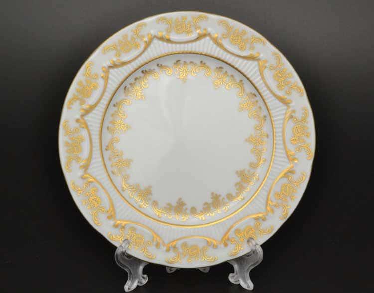 Venezie Redrose Polirgold Набор тарелок Бавария 19 см (6 шт)