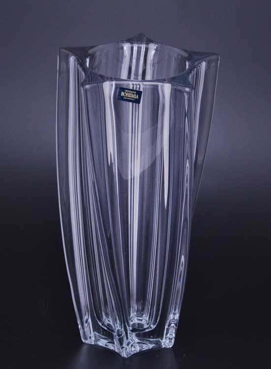 YOKO Ваза для цветов стеклянная Crystalite Bohemia 30 см