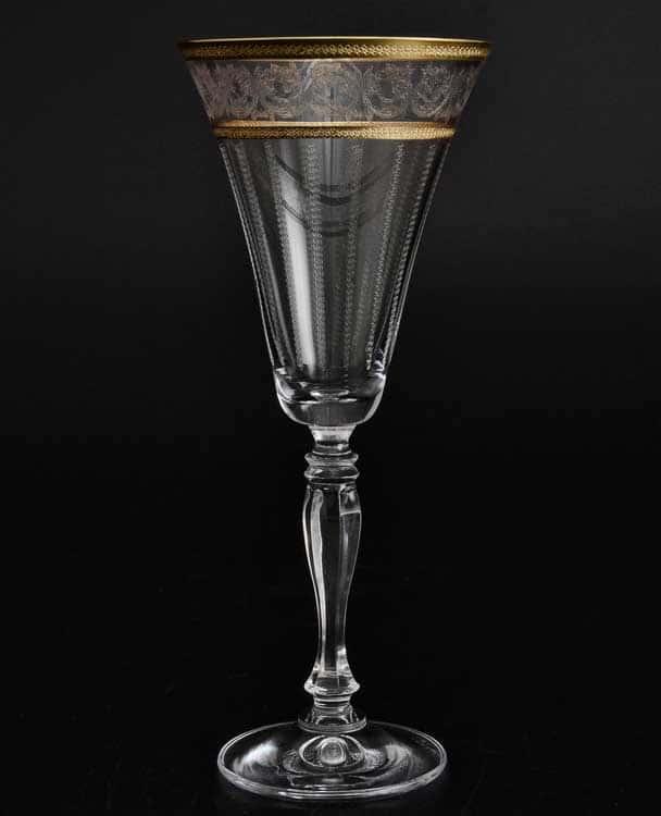 Виктория узор Набор бокалов для вина Crystalite 230 мл (6 шт)