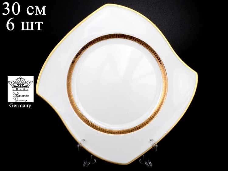 Soft Versace Набор тарелок Бавария 30 см (6 шт)