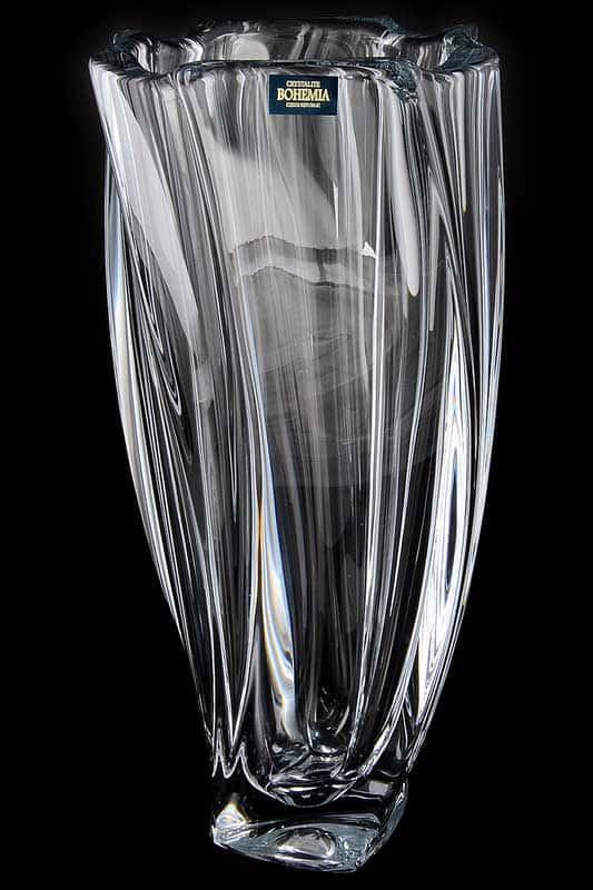 Нептун Ваза для цветов Crystalite Bohemia 30 cм.