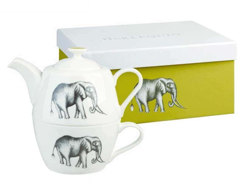 Саванна от Арлекин Набор: кружка и чайник Churchill из Англии