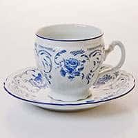 Набор для чая Бернадот 24074 на 6 персон 12 предметов на ножке