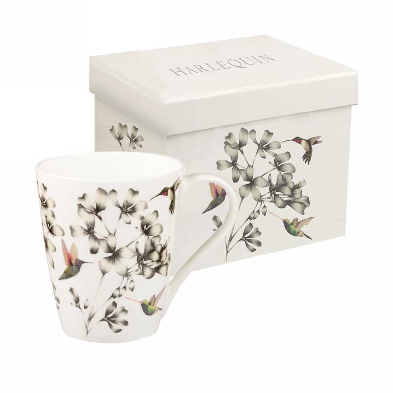 Колибри от Арлекин Кружка Churchill Англия в подарочной упаковке