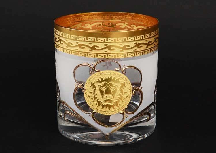 Версаче Лев R-G Набор стаканов для виски 280 мл (6 шт)
