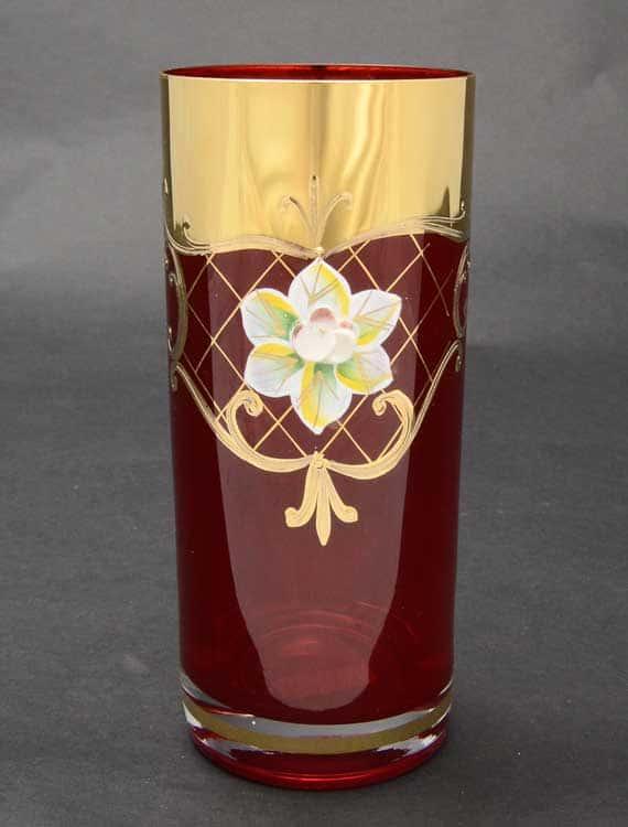 Лепка красная U-R Набор стаканов для воды 300 мл (6 шт)