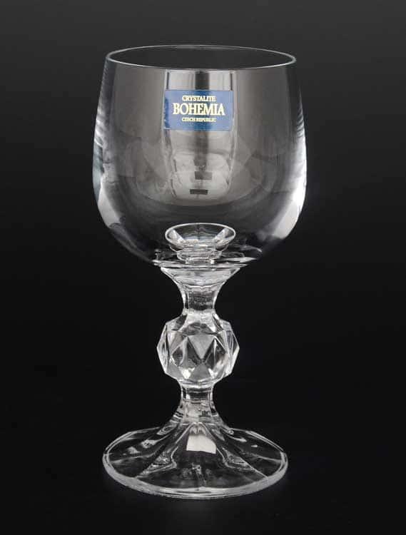STERNA Клаудиа недекорированная Набор бокалов для вина Crystalite Bohemia 150 мл 32388