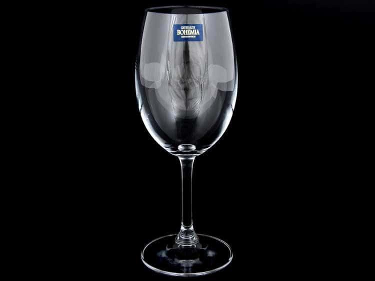 KLARA Набор бокалов для вина 350 мл Crystalite Bohemia (6 шт) 25245
