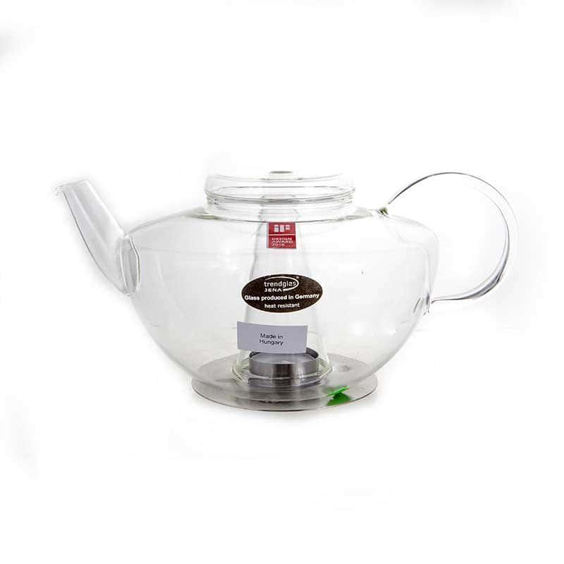 LUMOS Чайник с подогревом Trendglass Jena