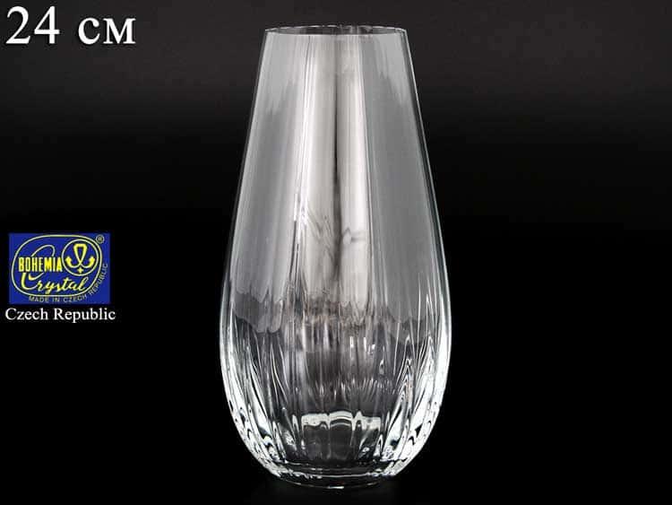 Q7819 Ваза для цветов Bohemia crystal 24 см