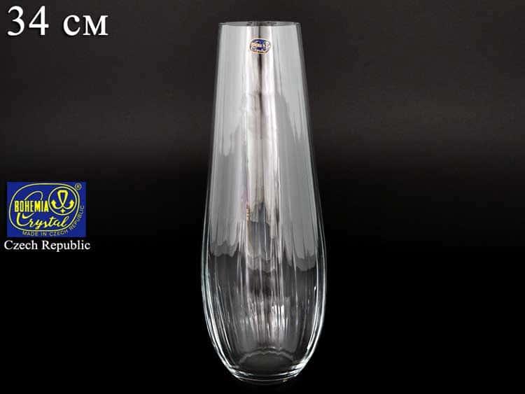 Q7819 Ваза для цветов Bohemia Crystal 34 см