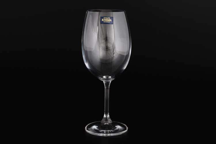 KLARA Набор бокалов для вина 450 мл Crystalite Bohemia (6 шт) 33140
