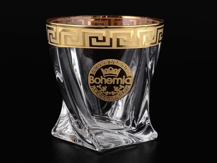 Богемия B-G Костка Стакан для виски из стекла