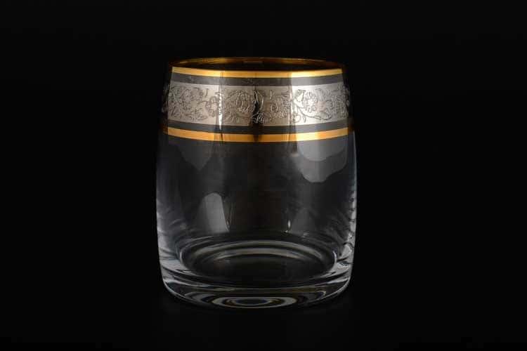 Идеал Панто Платина V-D Набор стаканов для виски Crystalite 290 мл