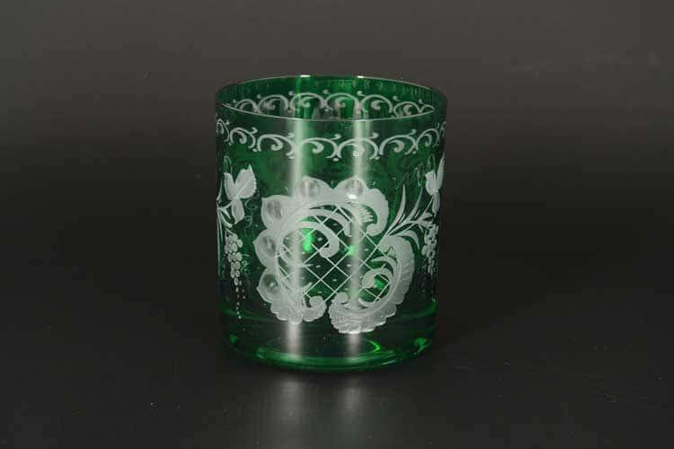 Зеленый  E-S Набор стаканов для виски 280 мл (6 шт)