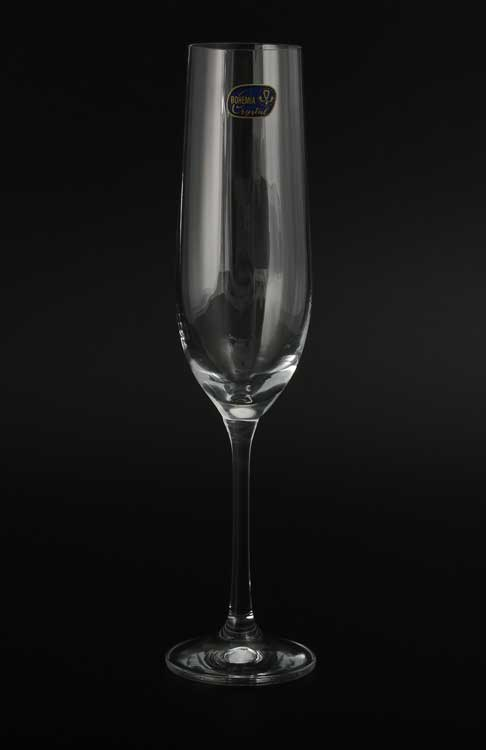 Waterfall Набор фужеров для шампанского Bohemia Crystal 190 мл 6 шт