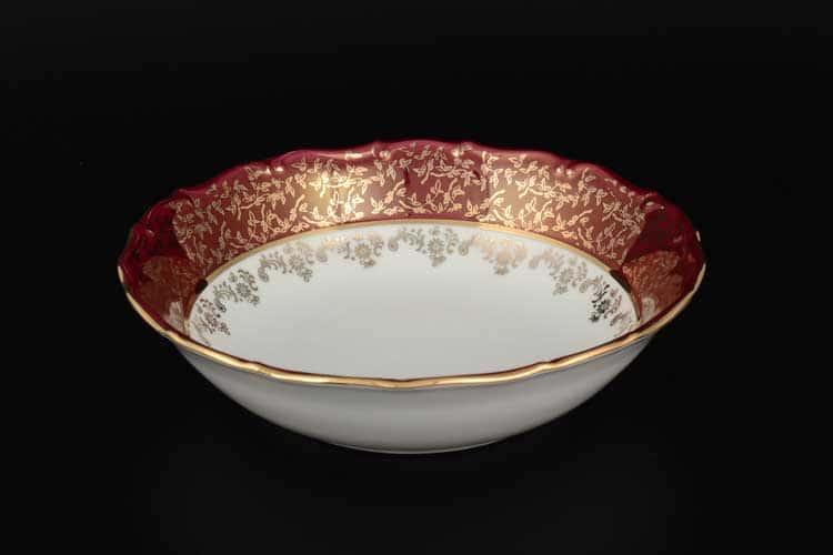 Красная паутинка б/т AL Набор салатников 16 см из 6 штук Royal Porcelain