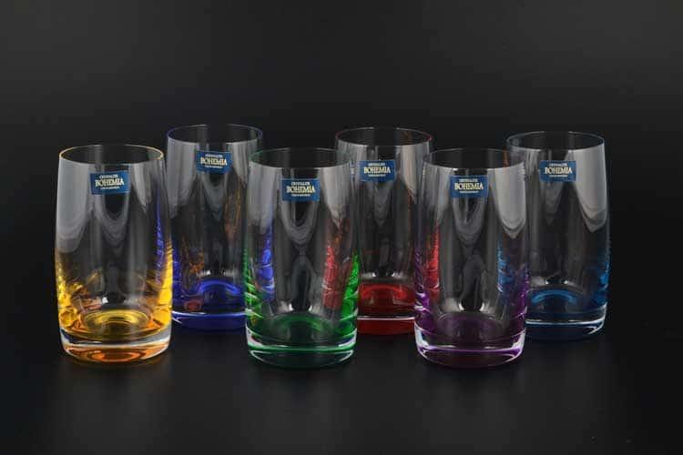 Идеал Арлекино Набор стаканов для воды Crystalite 250 мл (6 шт)
