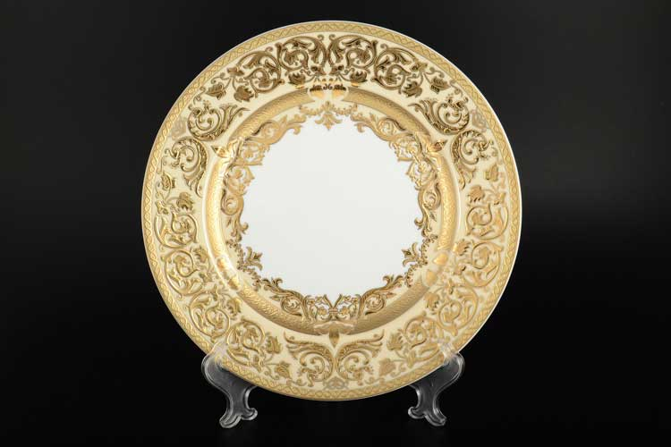 Natalia creme gold Набор тарелок FalkenPorzellan 28 см (6 шт)