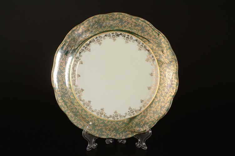 Зеленая Паутинка AL Набор тарелок Royal Porcelain 21 см из 6 штук