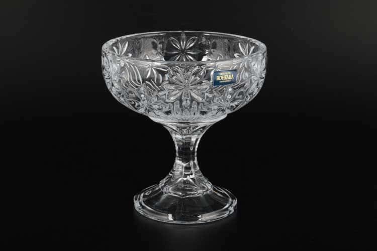 PERSEUS-NOVA Конфетница на ножке Crystalite 15 см