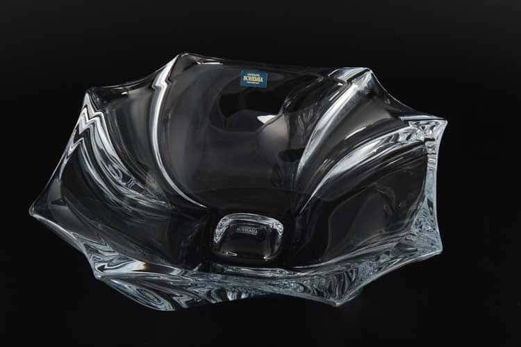 NEPTUNE Фруктовница Crystalite Bohemia 33 см