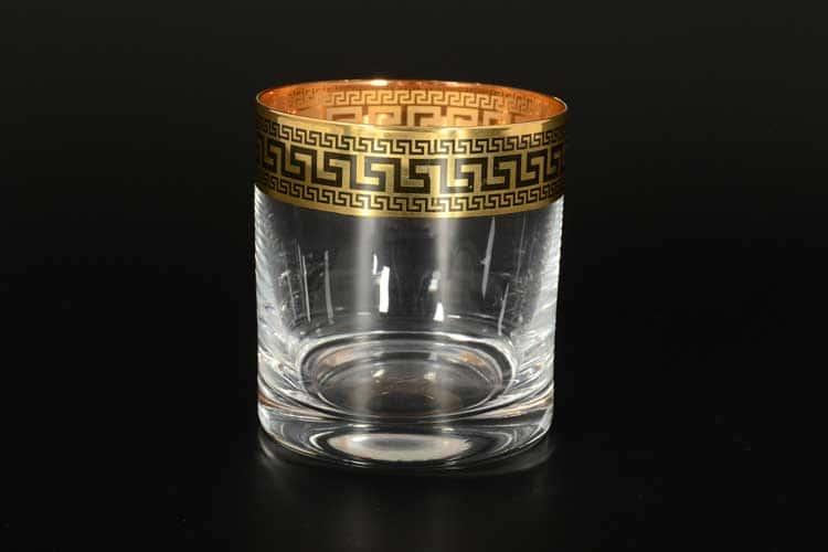 Костка черный B-G фон Набор стаканов для воды