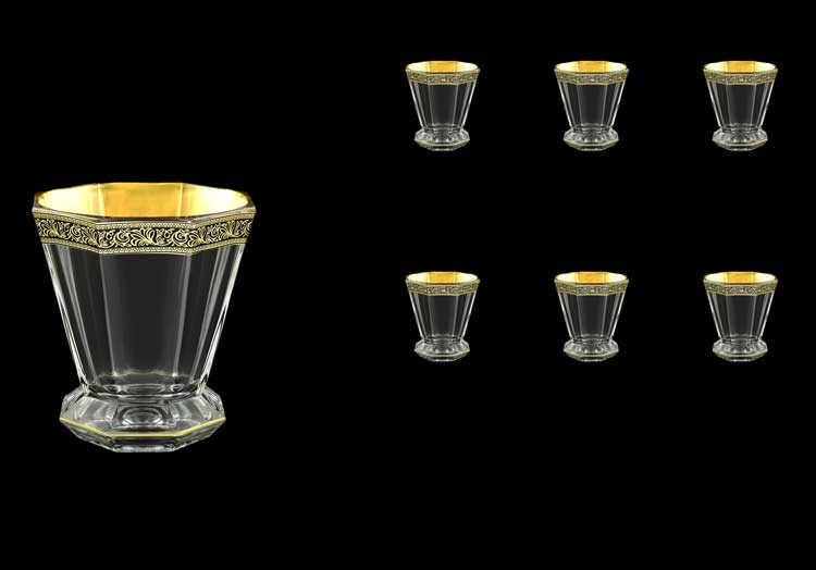 Версаче Глава Лаура Набор стаканов для виски 6 шт 310 мл Astra Gold