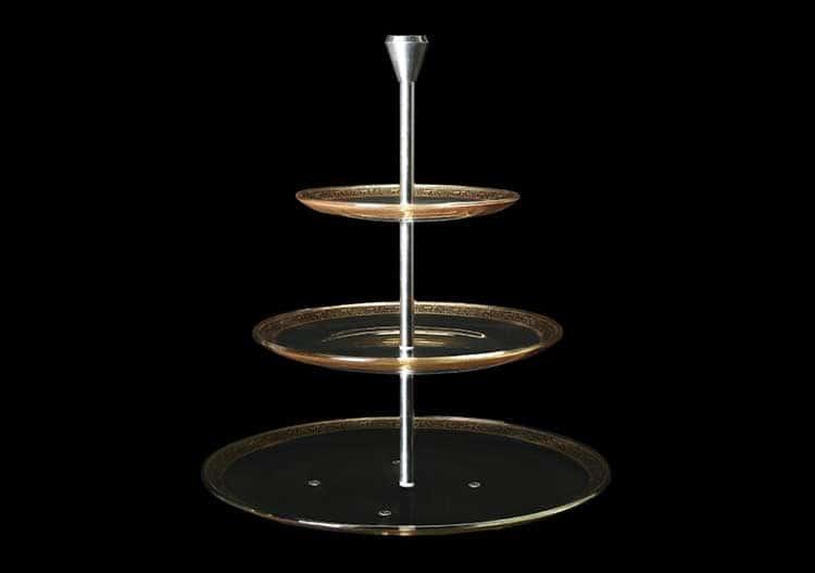 Версаче Глава Лаура Горка 3-х ярусная 15+21+28 см Astra Gold