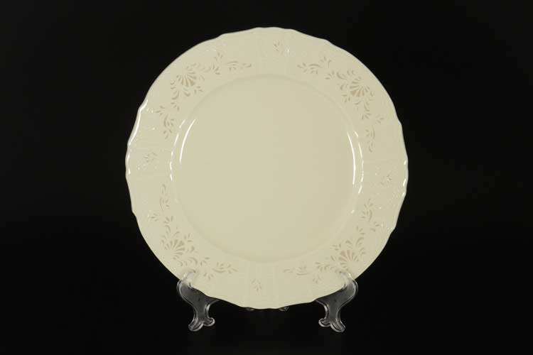 Платиновый узор BE-IVORY 3632021 Блюдо круглое Бернадотт 30 см