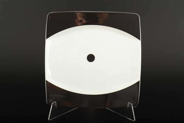 Домино EYE Набор тарелок квадратных Thun 21 см