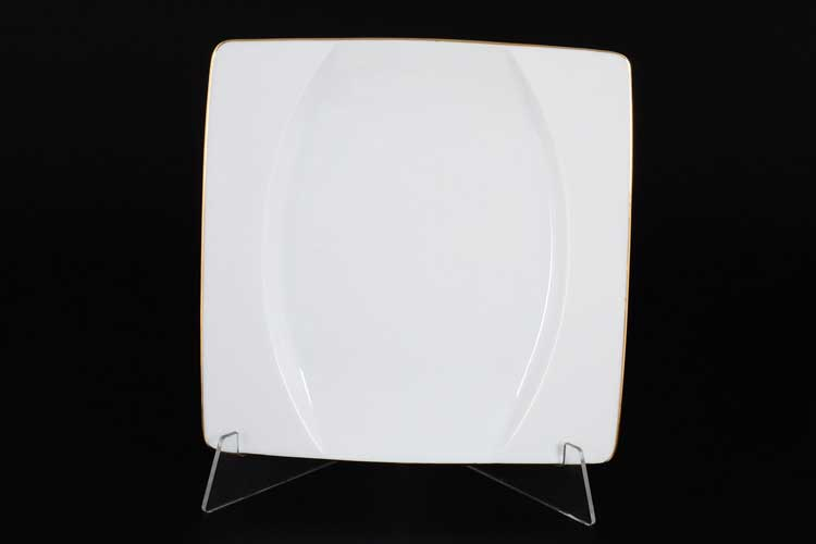 Отводка золото EYE Набор тарелок Thun 21 см