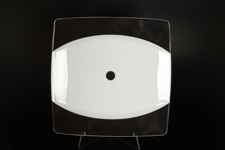 Домино EYE Набор тарелок квадратных 27 см  Thun