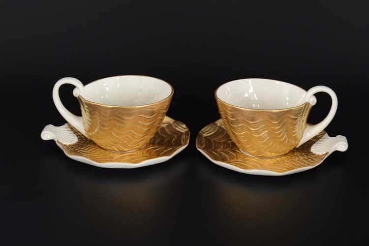 CATTIN Набор чайных пар (2 пары) из фарфора