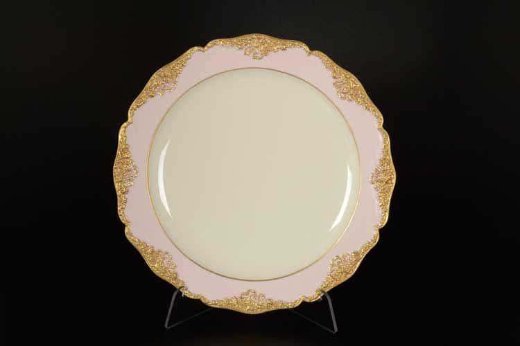CATTIN розовый Набор тарелок 24 см (6 шт) из фарфора