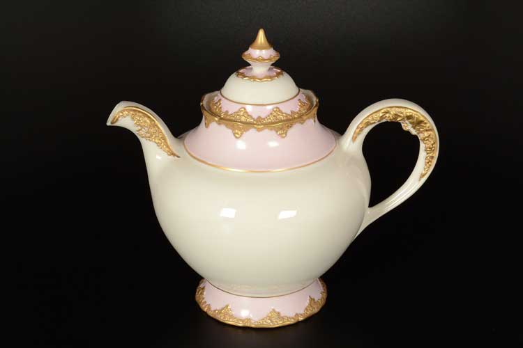 CATTIN розовый Чайник из фарфора