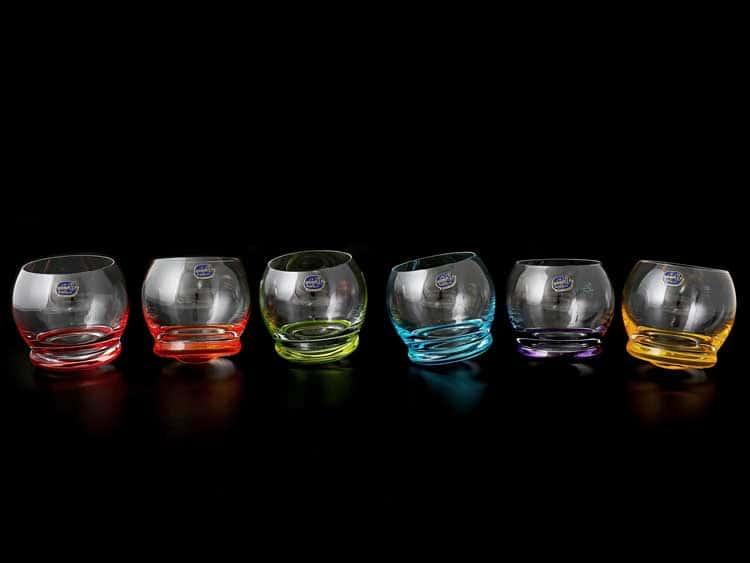Crazy Кристалекс Набор стопок для водки Bohemia Crystal 60 мл (6 шт)