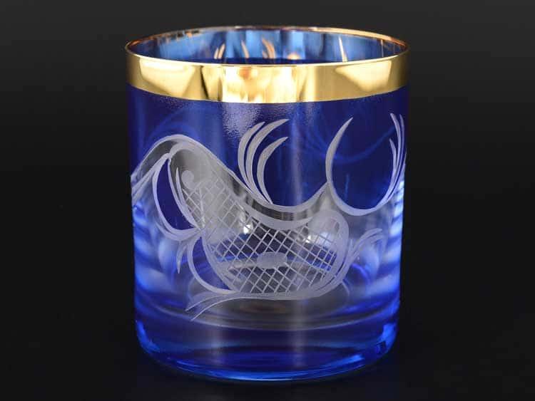 E-S 120 синий Набор стаканов для виски 280 мл E-V