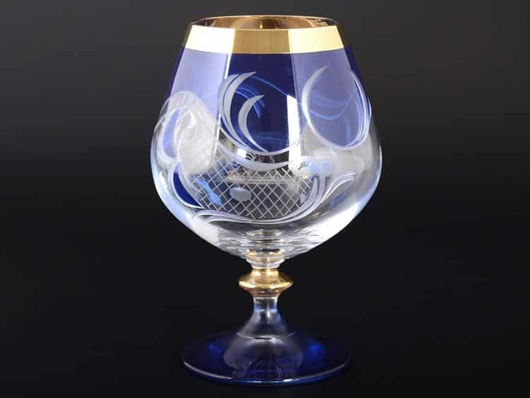E-S 120 синий Набор бокалов для бренди Bohemia 400 мл E-V