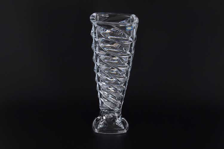 FAСET Ваза для цветов на ножке 37 см Crystalite Bohemia 35250
