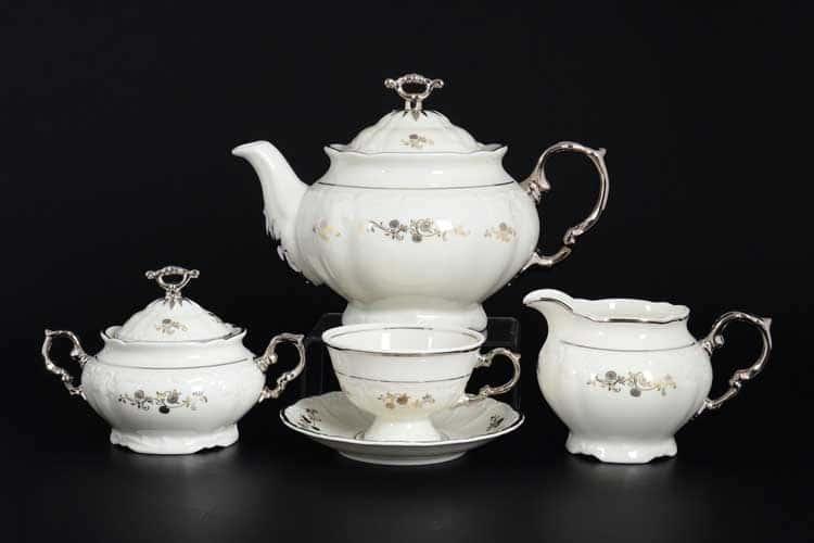 Мария Луиза IVORY 8800410 Чайный сервиз Thun на 6 персон 17 предметов